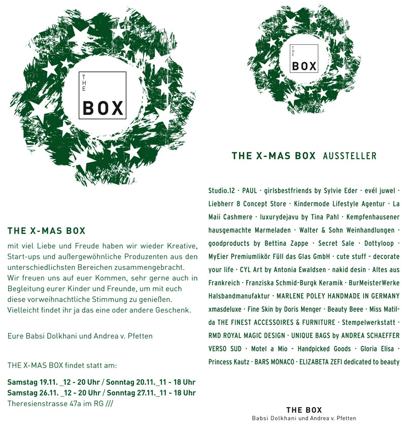 x-mas-box Flyer